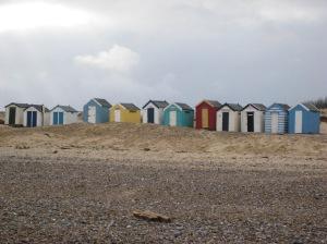 Bright beachhuts - Atmospheric inspiration
