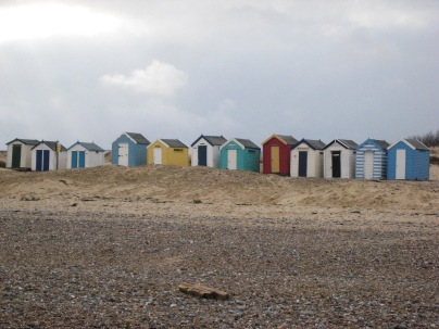 Bright beachhuts - Atmospheric inspiration