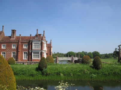Helmingham hall distance building inspiration