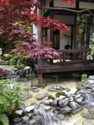 House peaceful garden - building inspiration