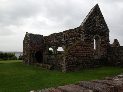 Ruined church - building inspiration