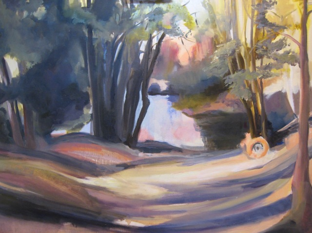Artwork-pond-grass-trees-Wendy-Parkes-Charles-Parkes-writer
